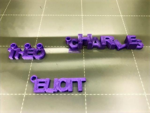 Initiation à l'impression 3D à l'école Ellipse Montessori Academy