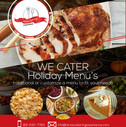 Holiday Cater Flyer for Print + Social Media