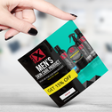 Skin X Mens Skin Care Ad Design