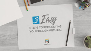 3 Easy Steps To Requesting Your Design With Us