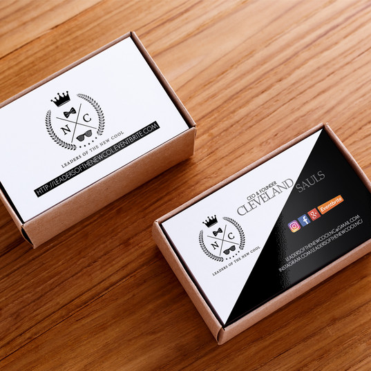 Business Cards for Nightlife Marketer.