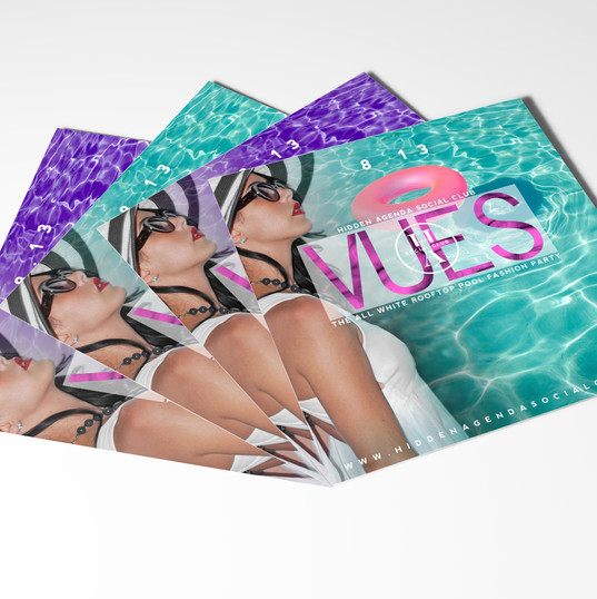 Vues Party Flyer