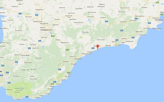 Приветное, ЮБК Отдых в Крыму на берегу моря отель Дания