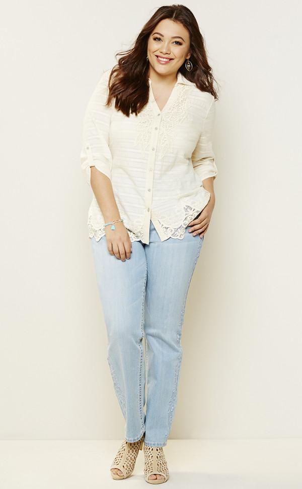 Reba plus size clothing via Plus Model Mag