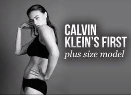 "Old Calvin Klein Photo Sparks New Debate in U.K. Over ""Plus Size"""