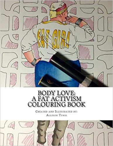 Artist Creates Fat Activist Coloring Book