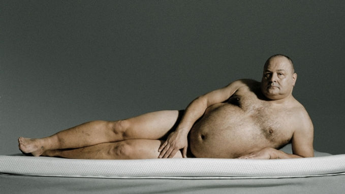 Male Plus Size Model is the Toast of German Advertising