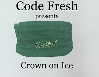 Crown On Ice Facemask