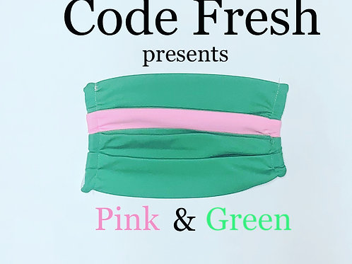 Code Fresh Pink and Green