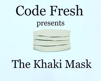 Code Fresh Khaki Mask