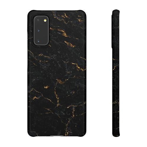 Black Marble - Samsung Snap Case