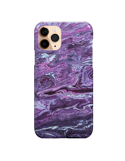 Purple Rain - Snap Phone Case