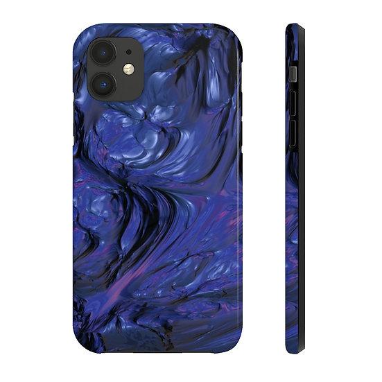 Mercury Blue - Tough Premium iPhone Case