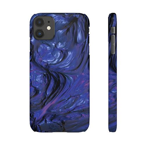 Mercury Blue - iPhone Snap Case