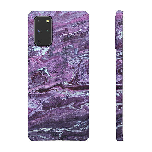 Purple Rain - Samsung Snap Case