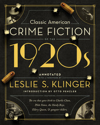 CLASSIC AMERICAN CRIME FICTION OF THE 1920's