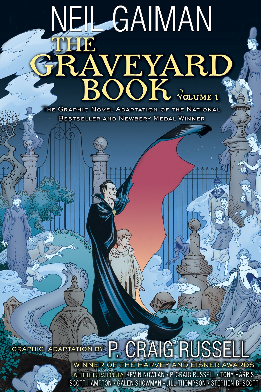 Graveyard Book Graphic Novel vol 1