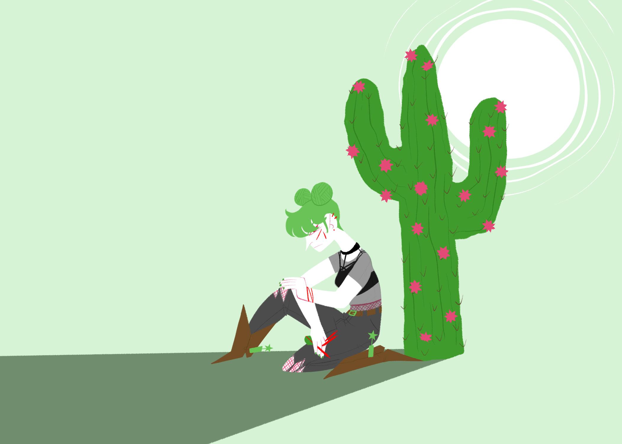 feeling prickly