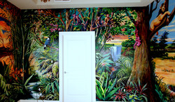 AFRICA ROOM- WALL (A)