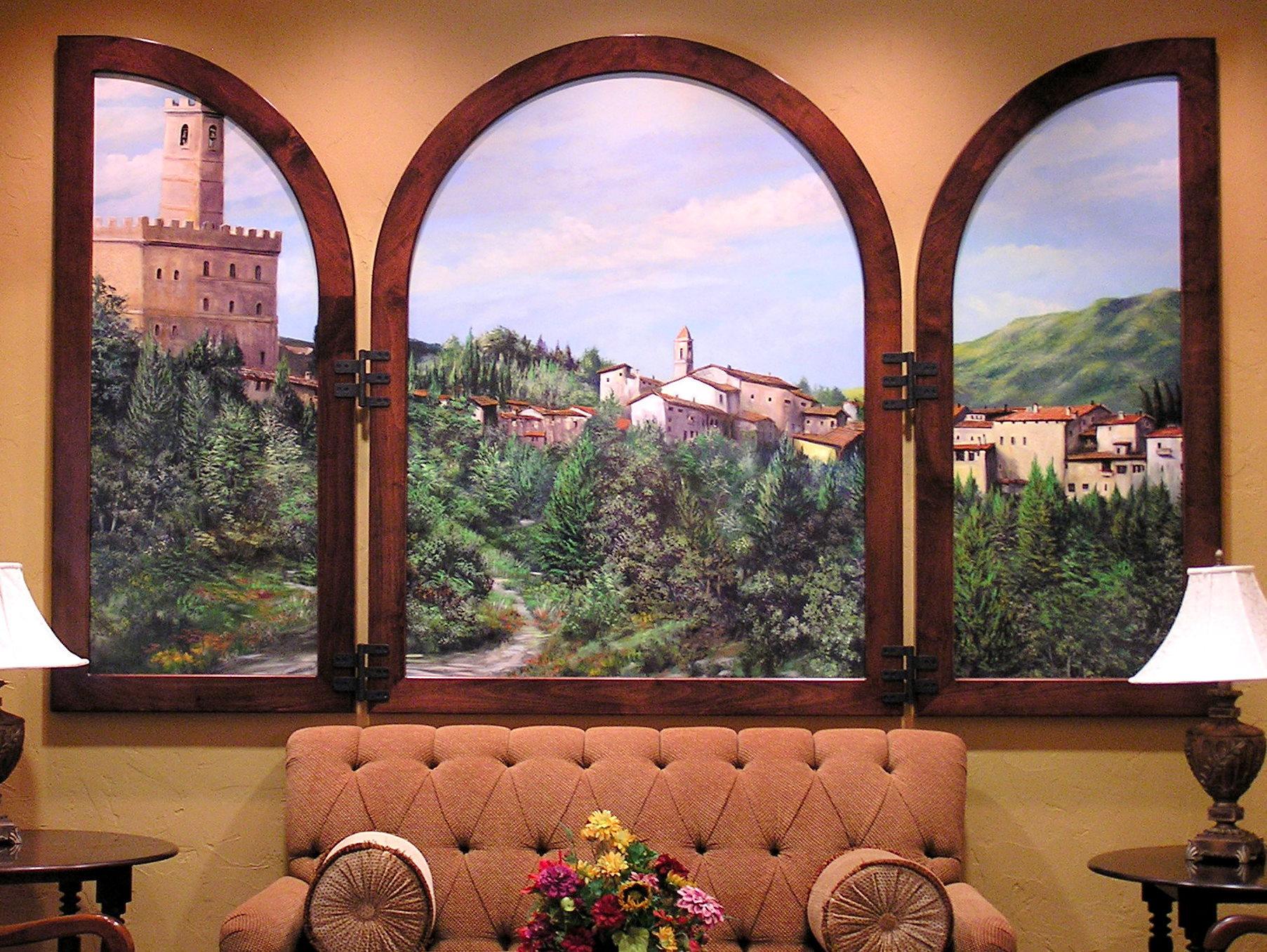 Hilton V.C.-Tuscan Triptich