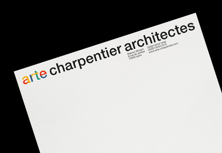 Arte Charpentier Architectes re-branding
