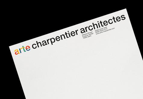 Arte Charpentier Architectes re-branding