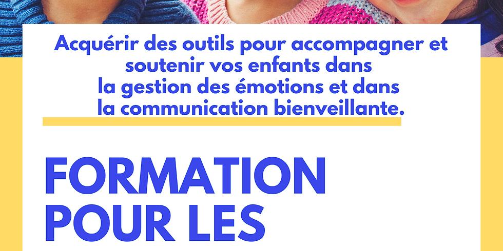 Pour les parents : accompagner son enfant dans la gestion des émotions grâce à un cadre bienveillant (1)