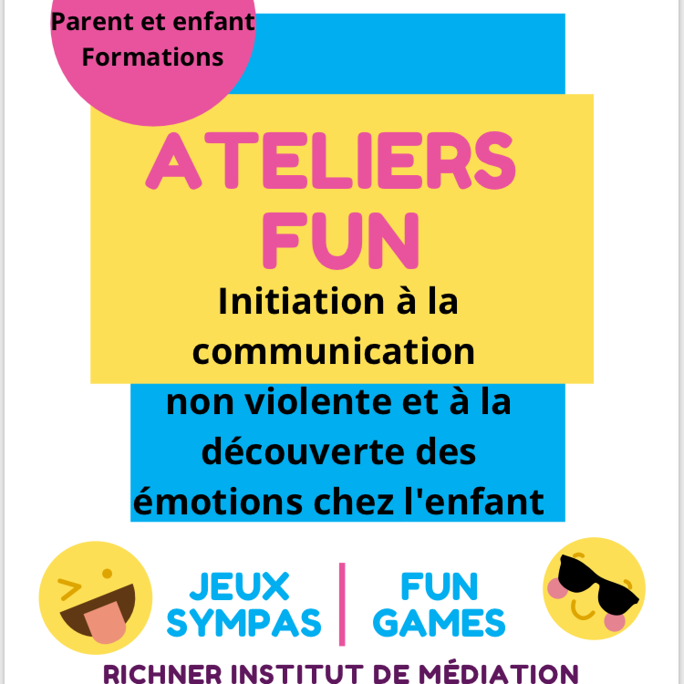 Atelier enfants de la Récré des émotions