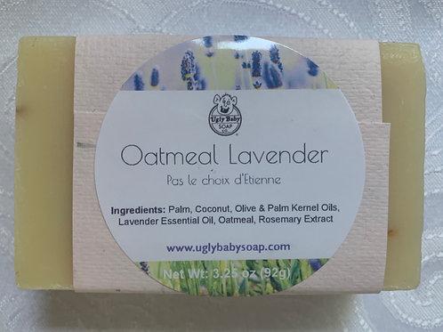 Oatmeal Lavender Bar Soap