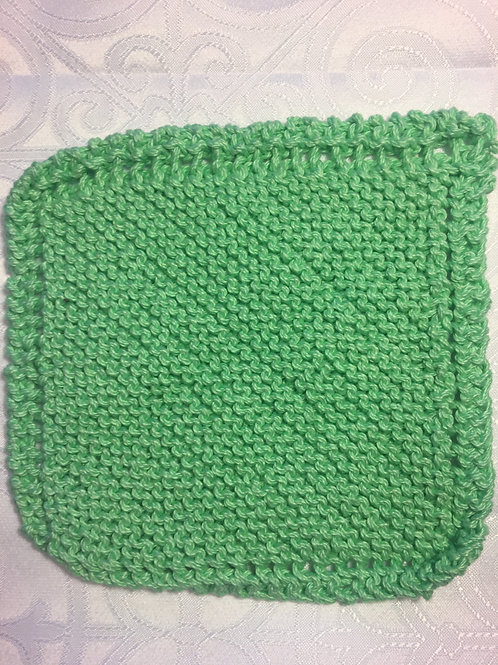 Washcloth - Sea Foam Green
