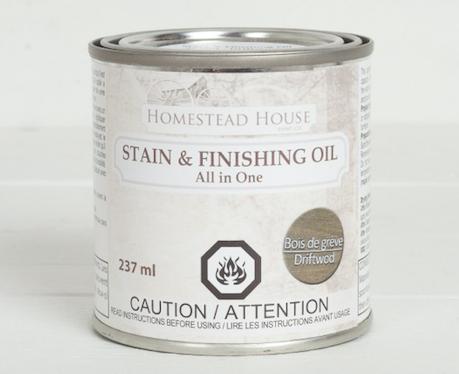 Stain & Finishing Oil: Driftwood
