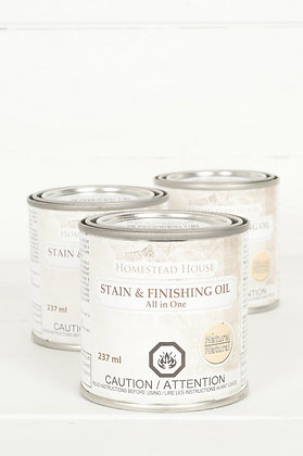 Stain & Finishing Oil: Natural (clear)
