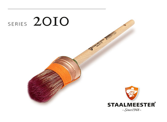 Staalmeester Brush: Oval 42mm