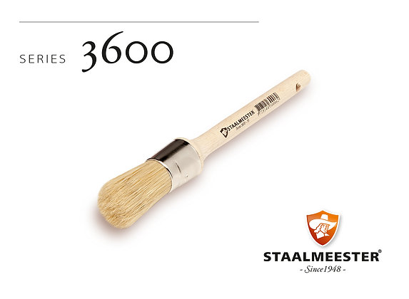 Staalmeester Brush: Round 38mm