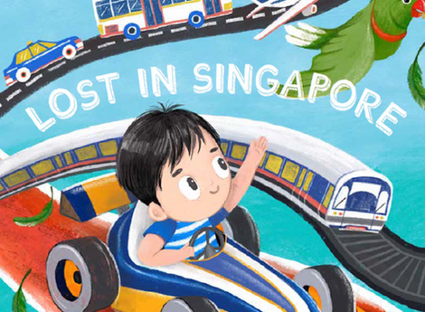 Lost in Singapore Story Book with Singapore Airlines
