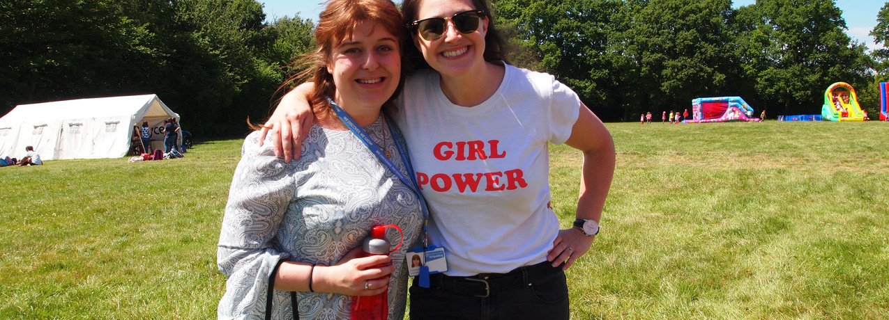 Supporting Girl Guiding