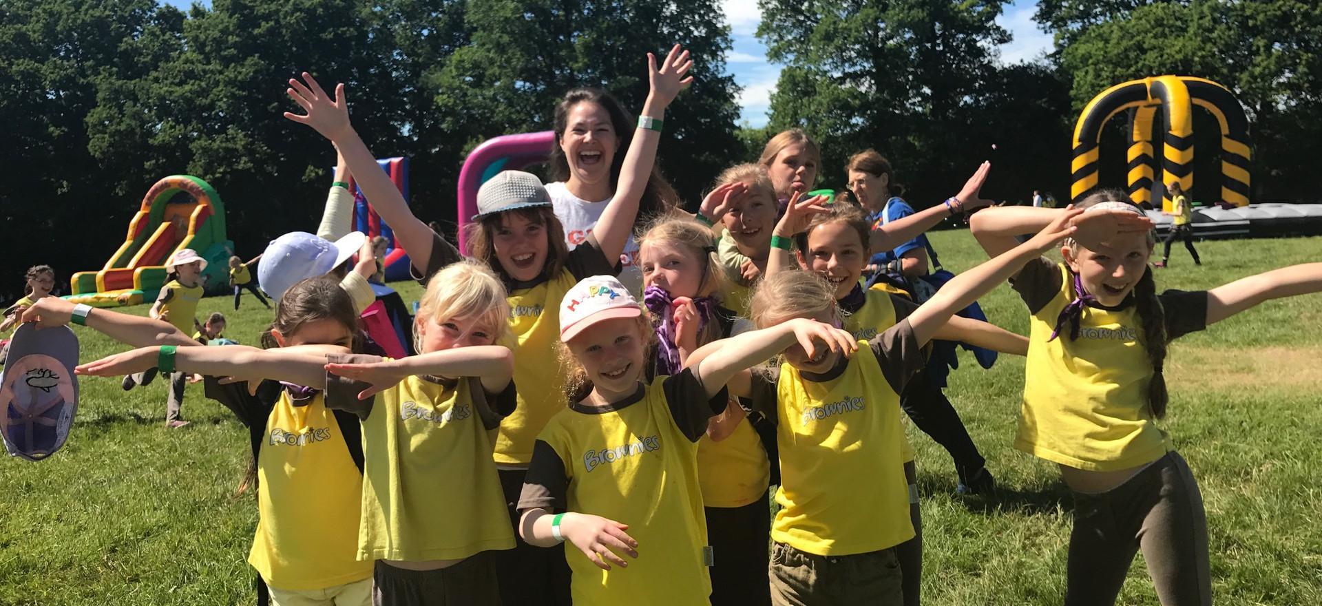 Girl Guiding UK Camp