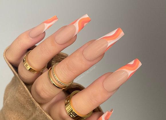 The Orange Swirl Set