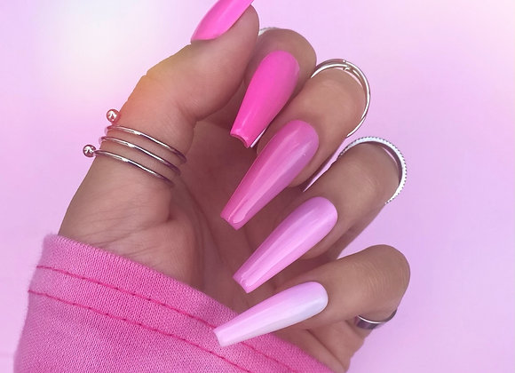 The Ombre Pink Set