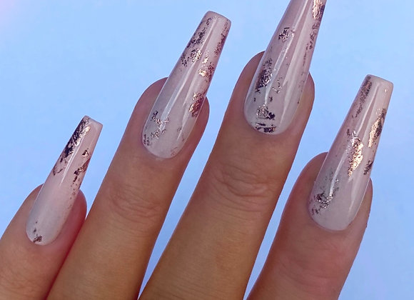 The Nude & Rose Gold Set