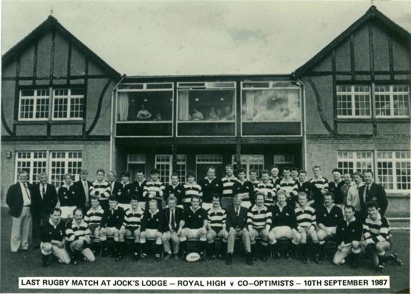 1987 - Last Jock's Lodge match.JPG