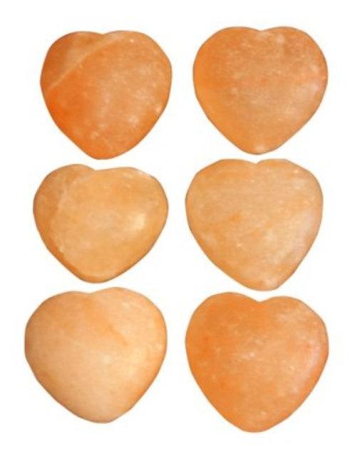 Salt Heart Stones 4 pk