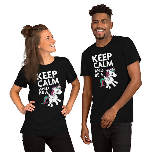 """KEEP CALM and be a Unicorn"" (3 colores disponibles)"