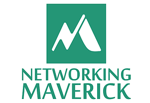 Networking maverick full logo with words