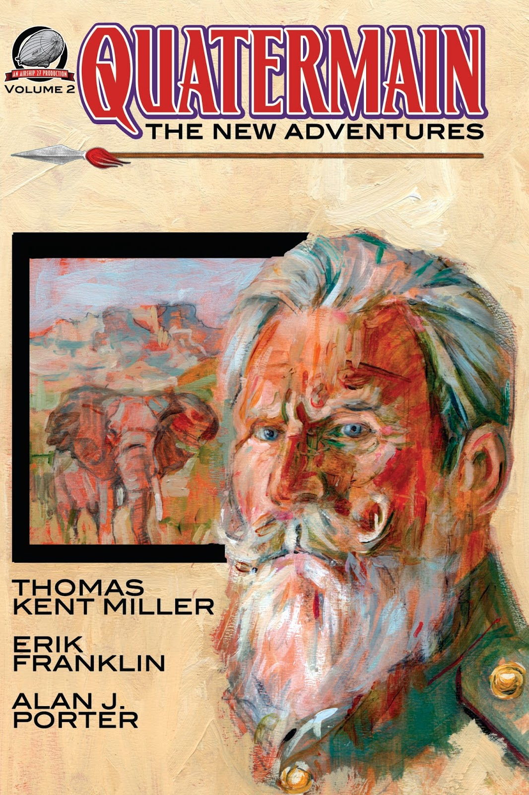 Quartermain The New Adventures Vol 2