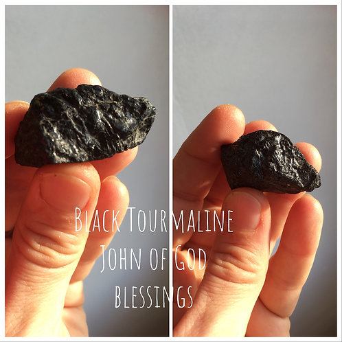 Black Tourmaline Chunk