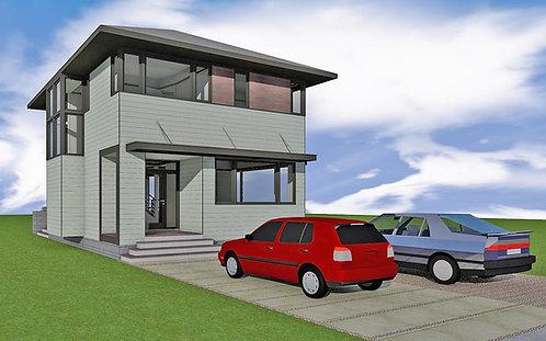 1,575 SF Urban Dwelling - 3BR, 2.5Ba