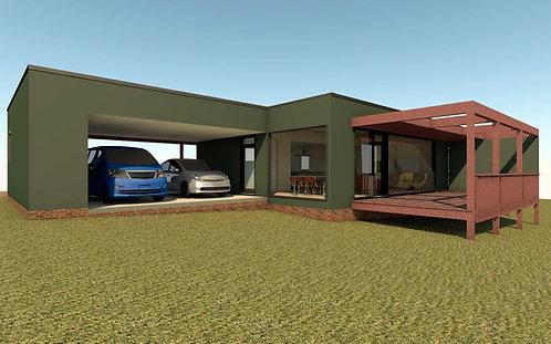 1,680 SF Modern Ranch 1 - 3BR, 2Ba