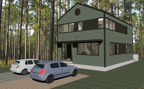 1,665 Urban Dwelling II - 3BR, 2.5Ba