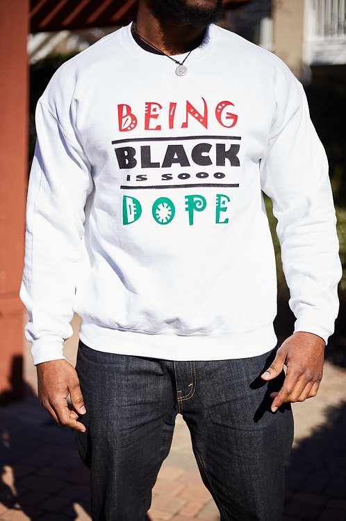 Sooo Dope  Sweatshirt Tri-color